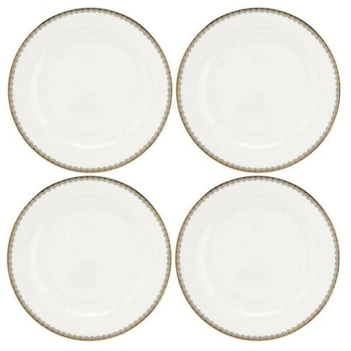 Royal Worcester Wrendale Designs Blue Lily Dinner Plates Set of 4 - Simply Utopia