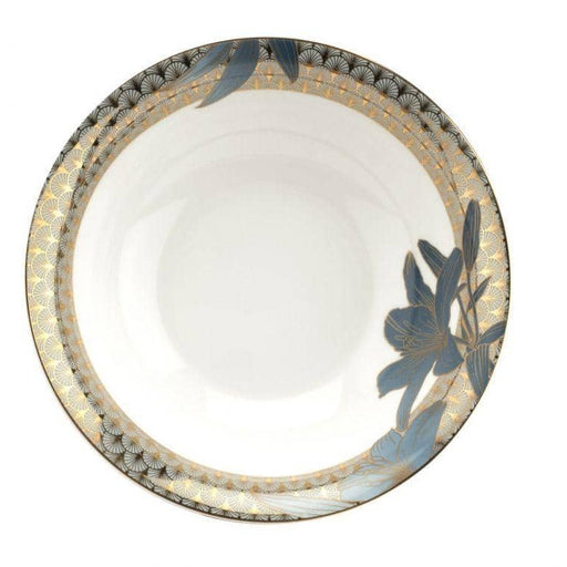 Royal Worcester Wrendale Designs Blue Lily Serving Bowl - Simply Utopia