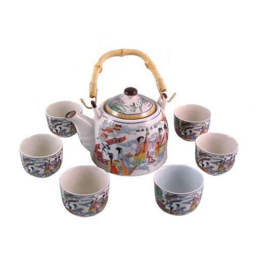 Traditional Musicians Porcelain Teaset - Simply Utopia