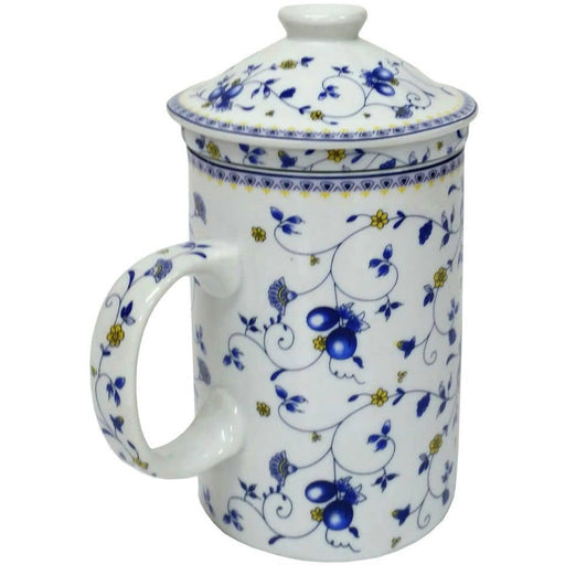 Fruit Vine Infuser Porcelain Mug - Simply Utopia