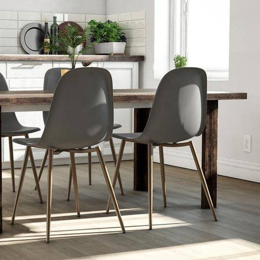 Copley Plastic Dining Chair Set Of 2 - Simply Utopia