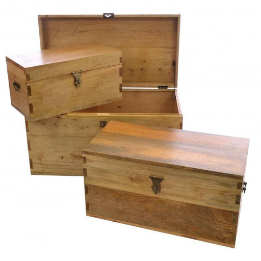 Country Set of 3 Storage Boxes - Simply Utopia