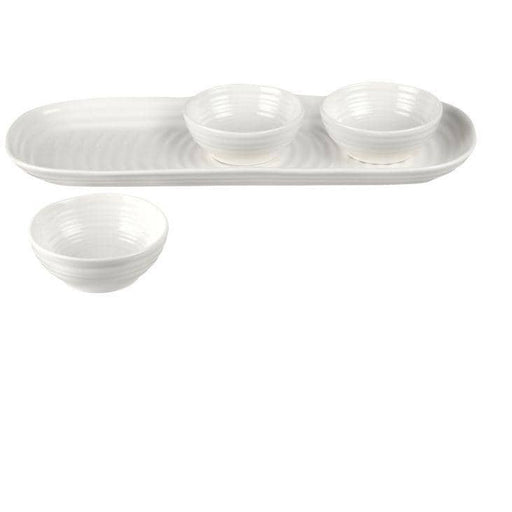 Sophie Conran for Portmeirion 3 Bowl & Tray Set - Simply Utopia