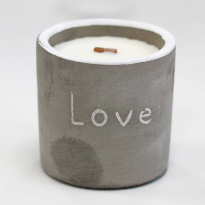 Love Purple Fig & Casis Med Pot Candle - Simply Utopia