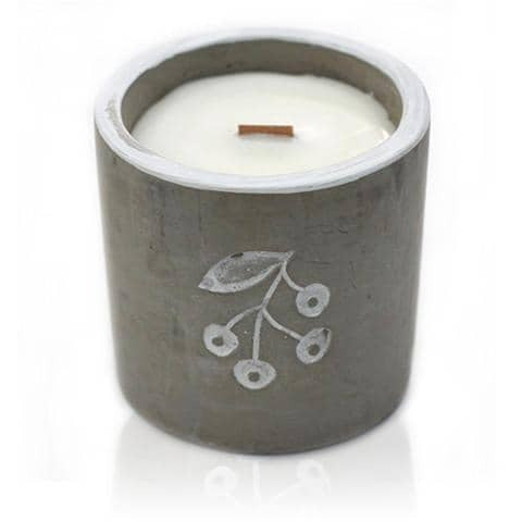 Berrys - Juniper & Sweet Gin Med Pot Candle - Simply Utopia