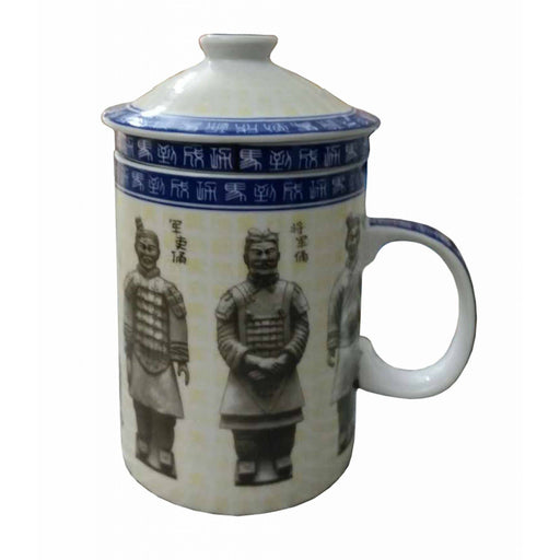 Chinese Terracotta Warriors Infuser Mug - Simply Utopia