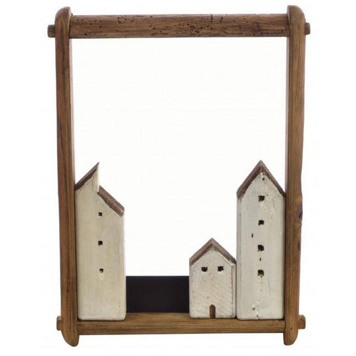 Fair Isle Village in Portrait Frame - Simply Utopia
