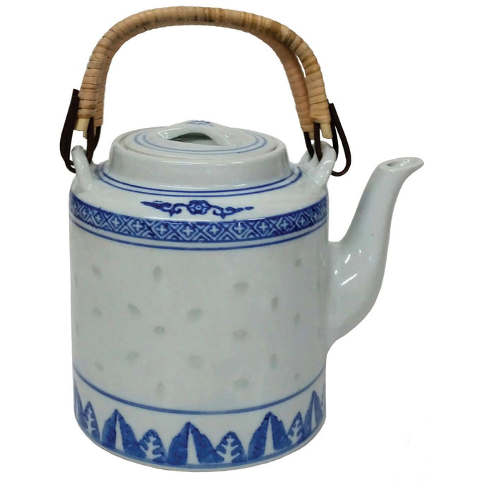 Large Rice Pattern Tea Pot - Simply Utopia