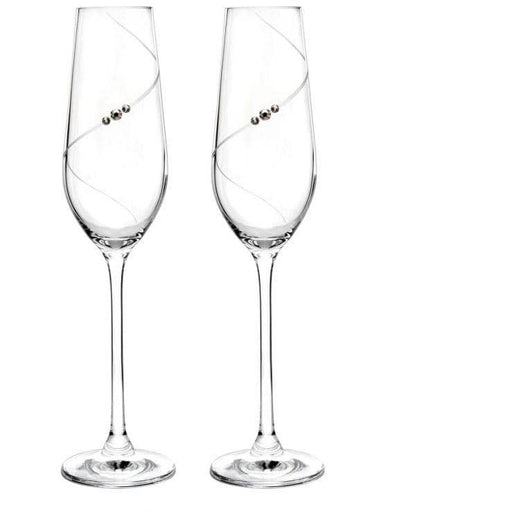 Portmeirion Champagne Flute S/2 - Simply Utopia