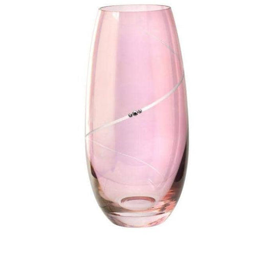 Portmeirion Pink Vase - Barrel Shape - Simply Utopia