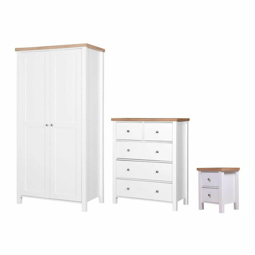 Astbury 3 Piece Bedroom Set 3+2 Drawer - Simply Utopia