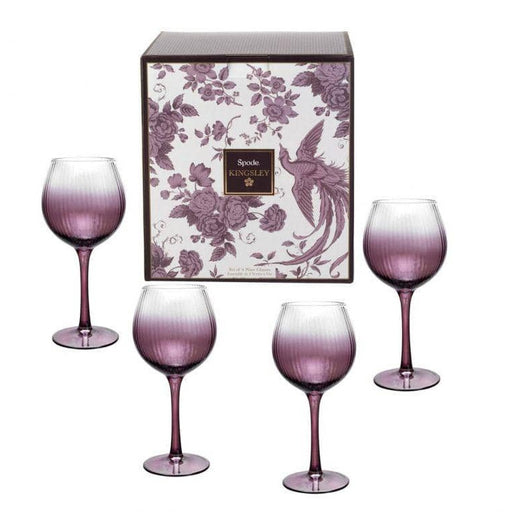 Spode Kingsley Wine Glass Set Of 4 - Simply Utopia