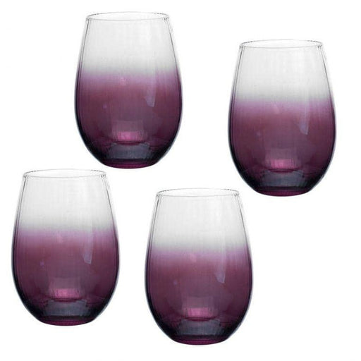 Spode Kingsley Stemless Wine Glass Set Of 4 - Simply Utopia