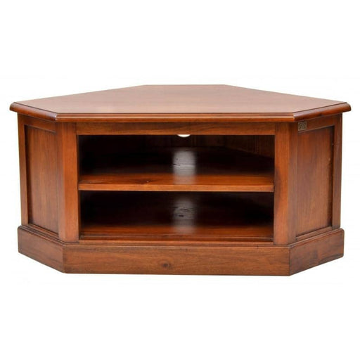 Mahogany Village Low Corner TV Unit - Simply Utopia
