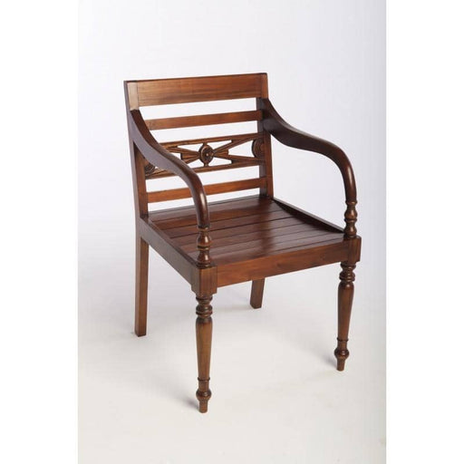 Mahogany Village Raffles Chair - Simply Utopia
