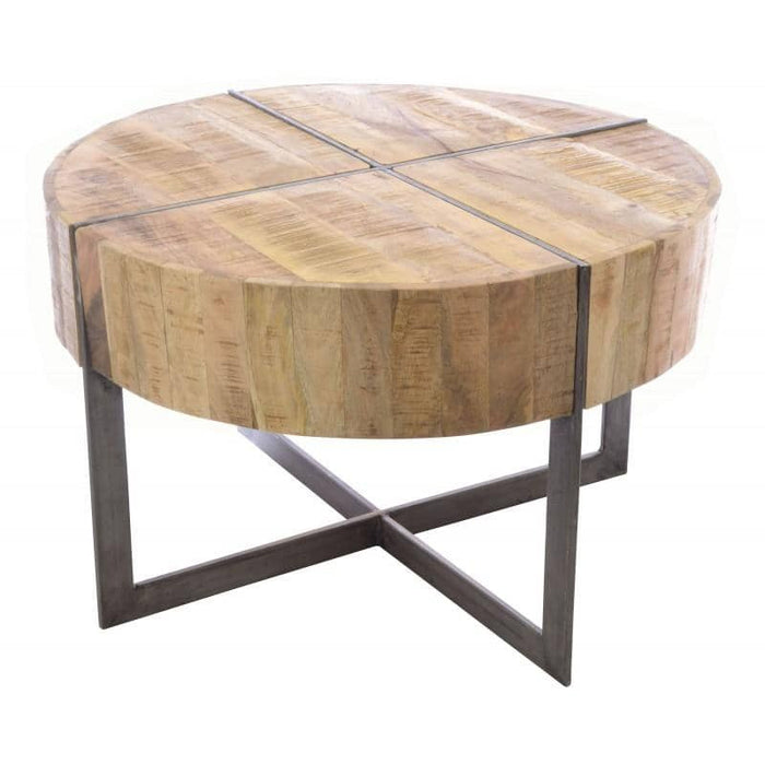 Old Empire Round Coffee Table - Simply Utopia
