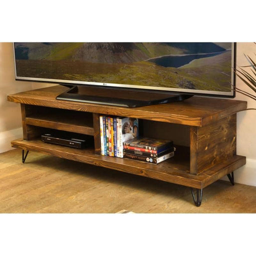 Oregon 120 TV Unit Metal Leg - Simply Utopia