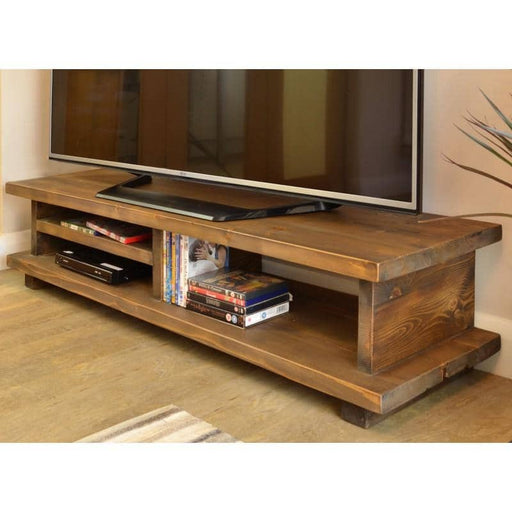 Oregon 120 TV Unit Wooden Leg - Simply Utopia