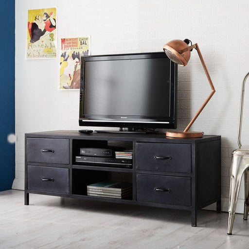 Metalica Iron TV Cabinet - Simply Utopia