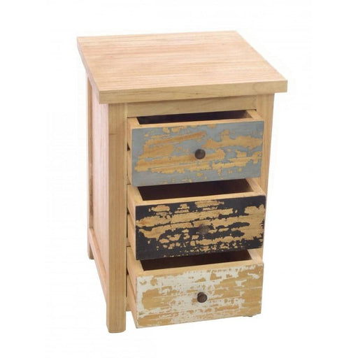 Piccadilly 3 Drawer Bedside - Simply Utopia
