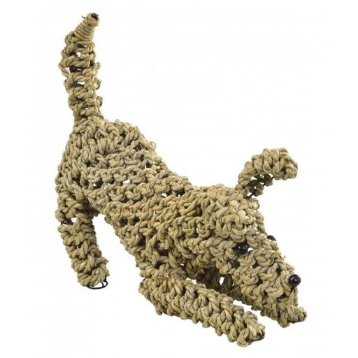 Playing Seagrass Dog Decorative Ornament - Simply Utopia