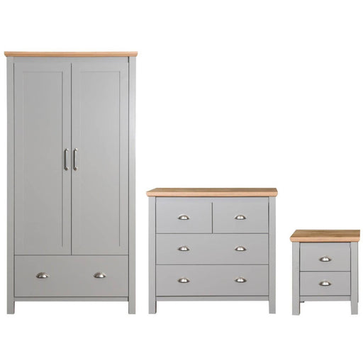 Eaton 3 Piece Bedroom Set 2+2 Drawer - Simply Utopia