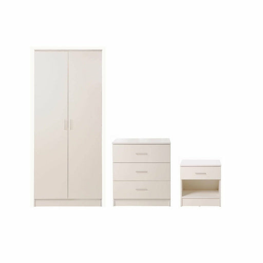 Rio Costa 3 Piece Bedroom Set 3 Drawer - Simply Utopia