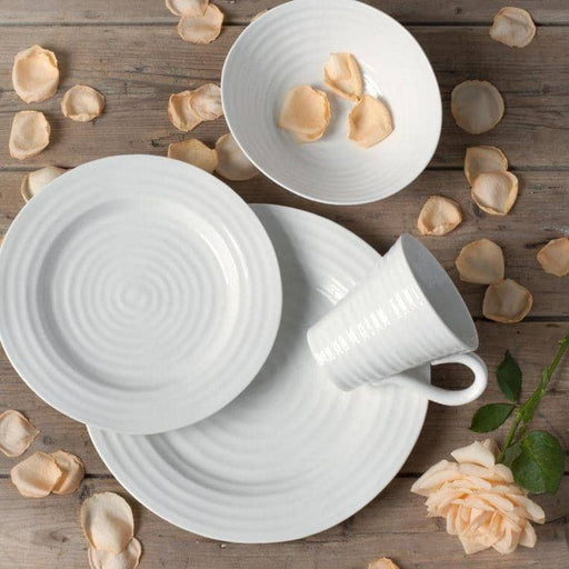 Sophie Conran for Portmeirion White Plate 11 inches Set of 4 - Simply Utopia