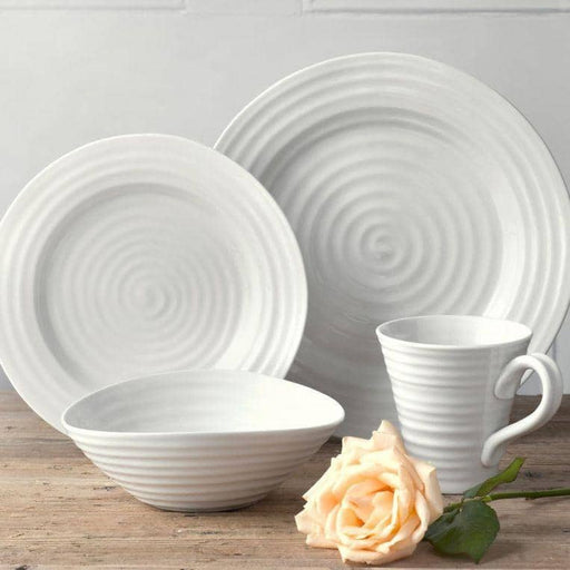 Sophie Conran for Portmeirion White 12 Piece Tableware Set - Simply Utopia