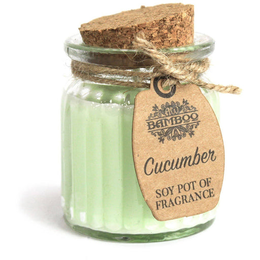 Cucumber Soy Pot of Fragrance Candles - Simply Utopia