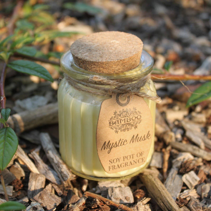 Mystic Musk Soy Pot of Fragrance Candles - Simply Utopia