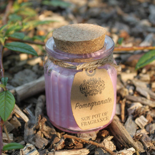 Pomegranate Soy Pot of Fragrance Candles - Simply Utopia