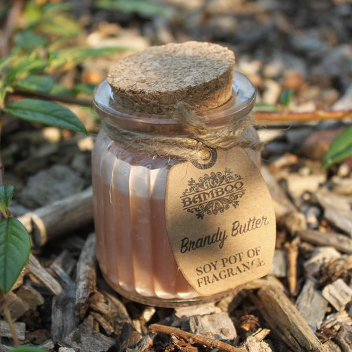 Brandy Butter Soy Pot of Fragrance Candles - Simply Utopia