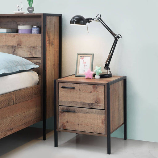 Stretton 2 Drawer bedside table - Simply Utopia