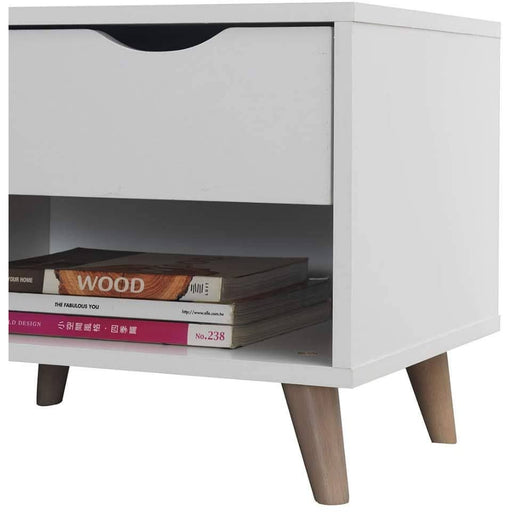 Pulford Nightstand with 1 Drawer - Simply Utopia