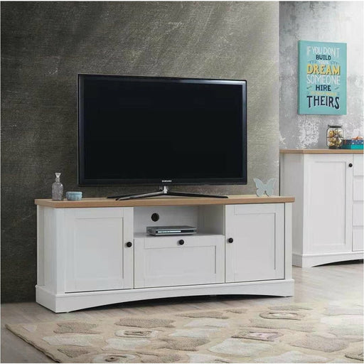 Carden TV Cabinet with 2 Doors & 1 Drawer - Simply Utopia