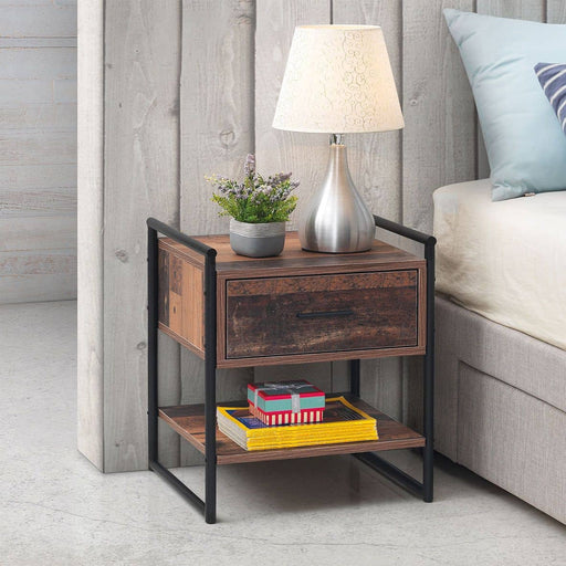 Abbey Nightstand with 1 Drawer - Simply Utopia