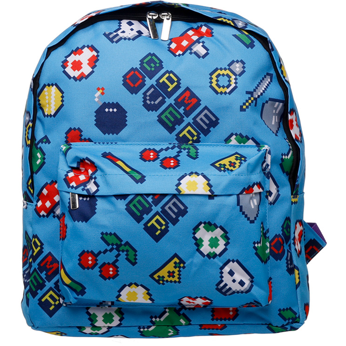 Retro Gaming Kids Backpack - Simply Utopia