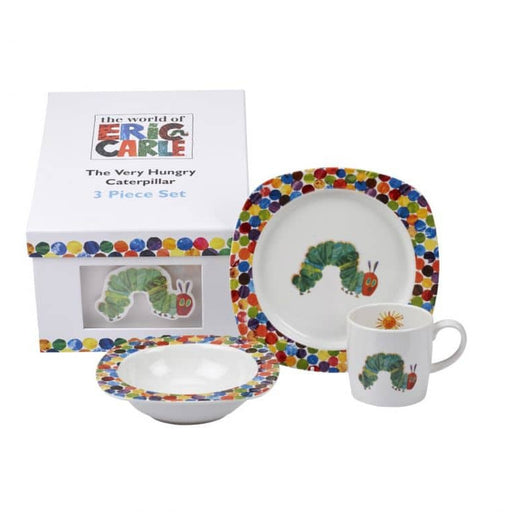 Portmeirion The Very Hungry Caterpillar 3 Piece Set - Simply Utopia