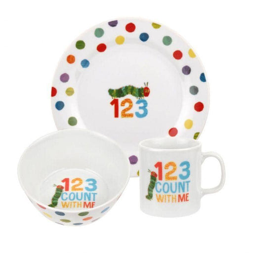 Portmeirion The Very Hungry Caterpillar 3 Piece Tableware Set - Simply Utopia