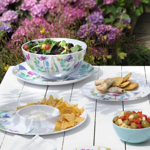 Portmeirion Water Garden 8.5 Inch Coupe Plate Set of 4 - Simply Utopia