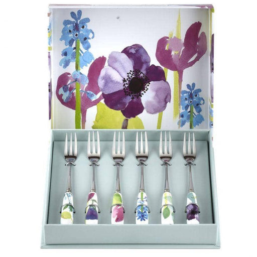 Portmeirion Water Garden Pastry Forks Set of 6 - Simply Utopia