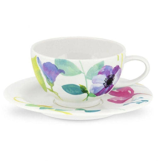 Portmeirion Water Garden Breakfast Cup and Saucer set of 4 - Simply Utopia