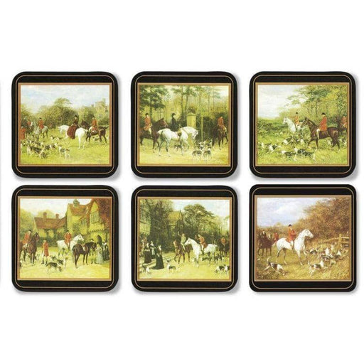 Pimpernel Tally Ho Set of 6 Coasters - Simply Utopia