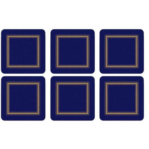 Pimpernel Classic Midnight Coasters Set of 6 - Simply Utopia