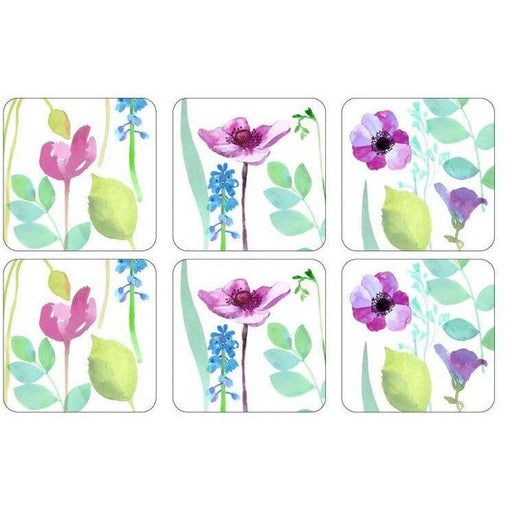 Portmeirion Water Garden Coasters Set of 6 - Simply Utopia