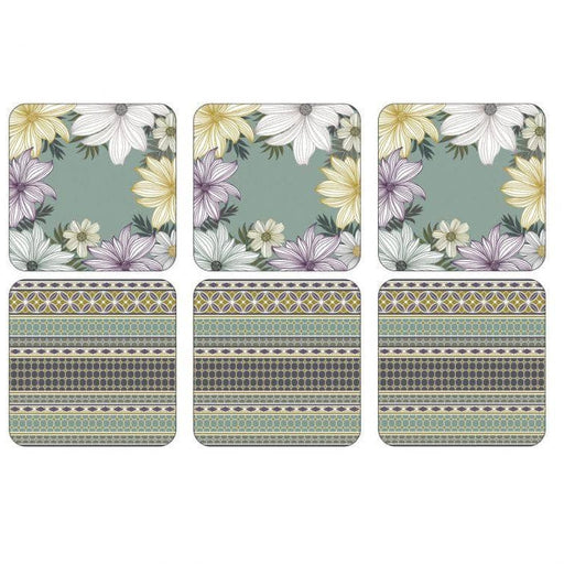 Pimpernel Atrium Coasters Set of 6 - Simply Utopia