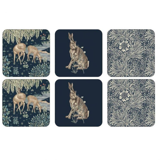 Morris and Co for Pimpernel Wightwick Coasters Set of 6 - Simply Utopia