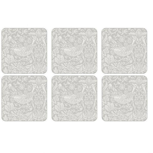 Pimpernel Pure Morris Strawberry Thief Coasters Set of 6 - Simply Utopia
