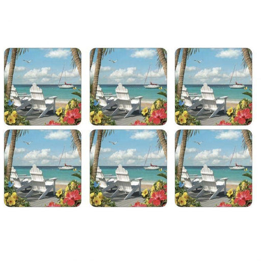 Pimpernel In the Sunshine Coasters set of 6 - Simply Utopia